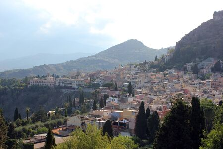 The pearl of Taormina in Sicily in Italy