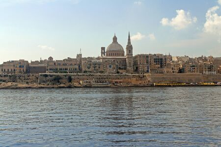 The dome of La Valletta in Malta