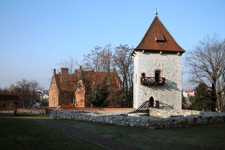 Polish rural architecture in the village of Wieliczka