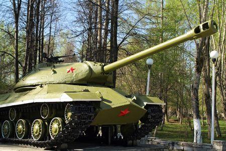 monumento al ej�rcito sovi�tico tanque  Foto de archivo - 969546