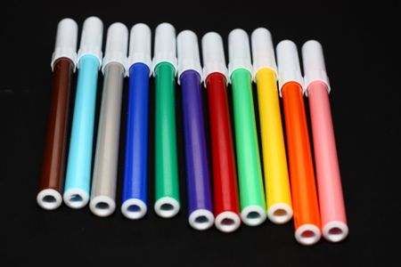 some felts of all colors photo