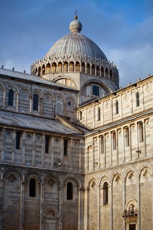 some details of miracoli square monuments in pisa Stock Photo - 6702541