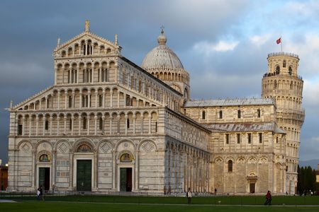 some details of miracoli square monuments in pisa Stock Photo - 6702514
