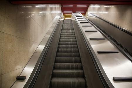 subway station elevator Stock Photo - 7485381