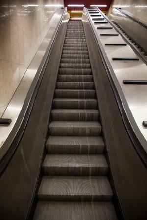 subway station elevator photo