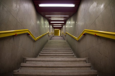 subway station stair Stock Photo - 7485382