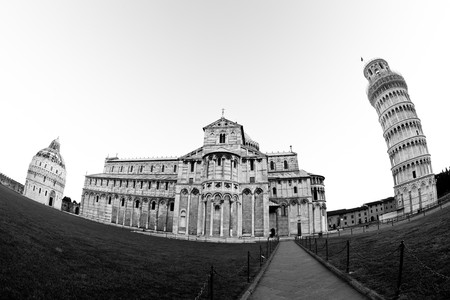 Pisa Cathedral and Leaning Tower,  photo