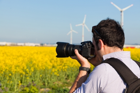 photographers: Young Naturalist Photographer at Work