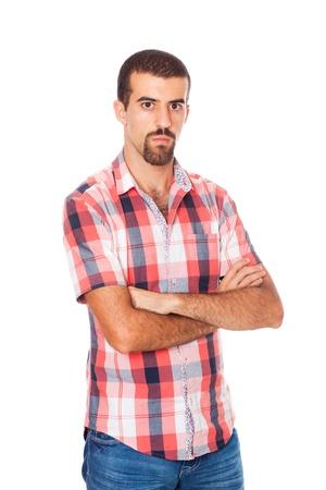 reflexive: Young Man Portrait Stock Photo
