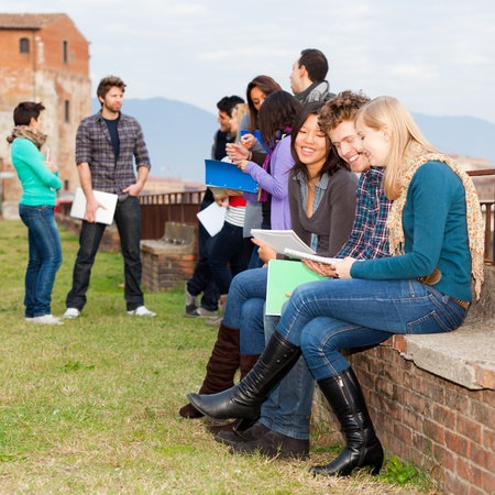 Multicultural College Students Stock Photo - 11587769