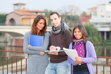 Multicultural College Students Stock Photo - 11530172