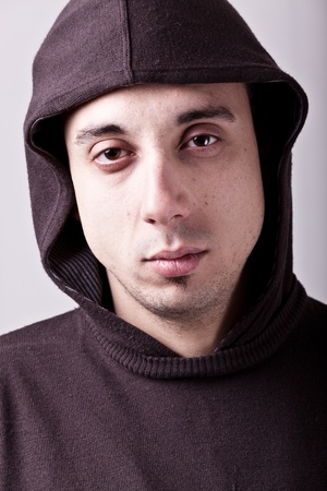 Drug Abuser Portrait photo