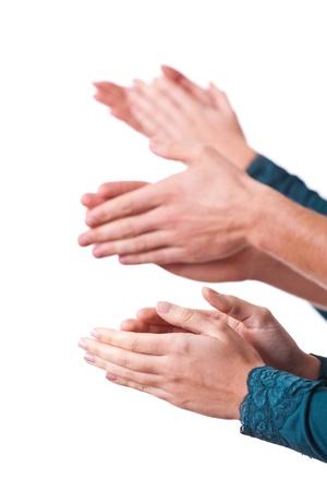 aplaudiendo: Manos Humanos Palmas