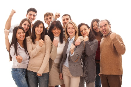 Large Group of People, Big Family Stock Photo - 12120968
