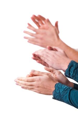 manos aplaudiendo: Manos Humanos Palmas