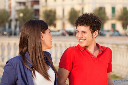 Happy Young Couple Stock Photo - 13541373