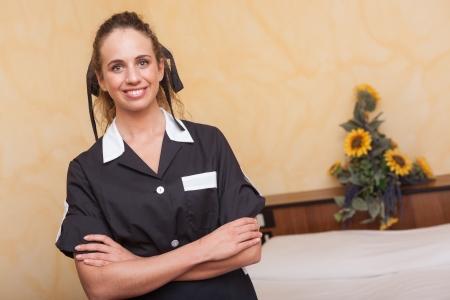 Chamber Maid at Work Stock Photo - 16333708