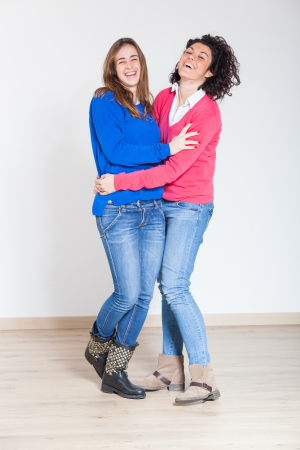 Two Beautiful Women Together photo