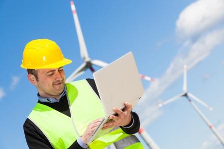 aeolian: Technician Engineer in Wind Turbine Power Generator Station