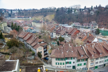 Houses in the City of Bern, Swiss photo