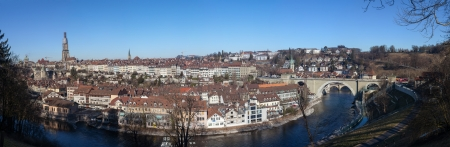 central government: Panoramic View of Bern