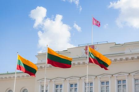 president: Presidential Palace in Vilnius