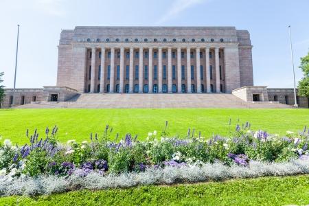 ヘルシンキでフィンランド国会議事堂