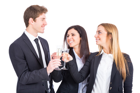 Business Team Toasting photo