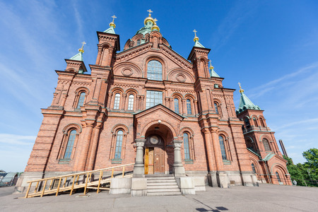 Orthodox Cathedral in Helsinki photo