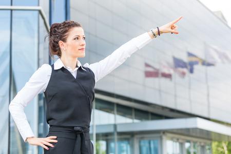 trustful: Trustful Businesswoman  Portrait