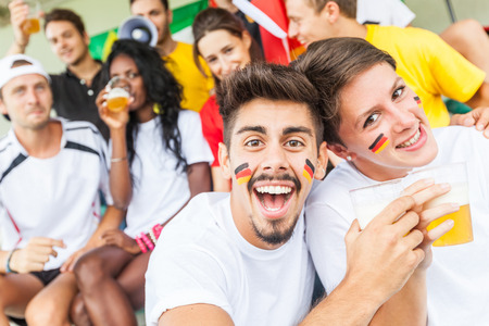 German Supporters at Stadium photo