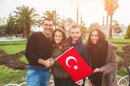 turquia: Grupo de Amigos turcos en Estambul