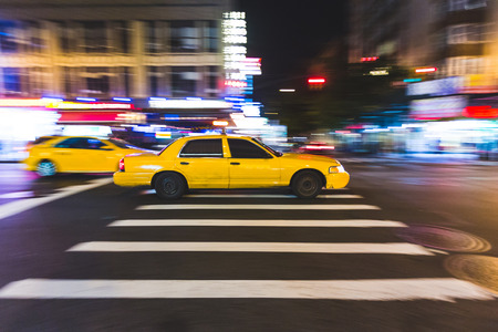 taxi: Fast Taxy Running on the Street