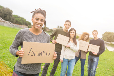 integrated group: Multiethnic Group of Young Volunteers