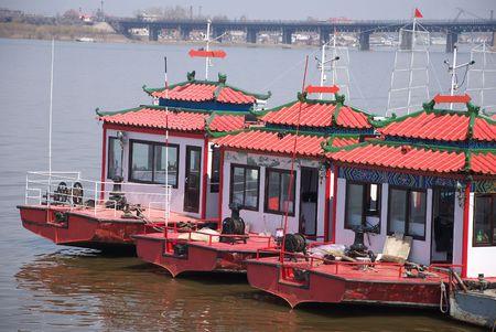 houseboat: houseboat Stock Photo