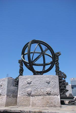 instrument in ancient observatory of Beijing