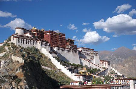 the potala palace Imagens