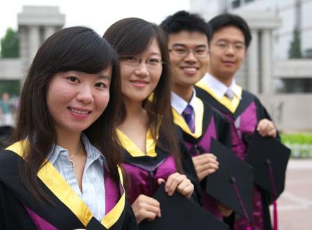 graduate students: Asian students