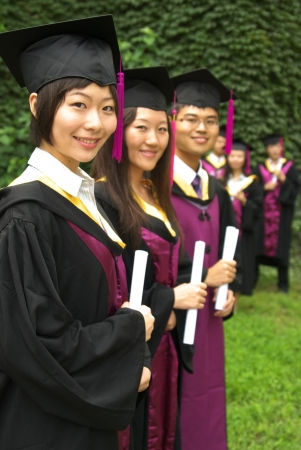 graduate student: graduation