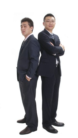 two business man
