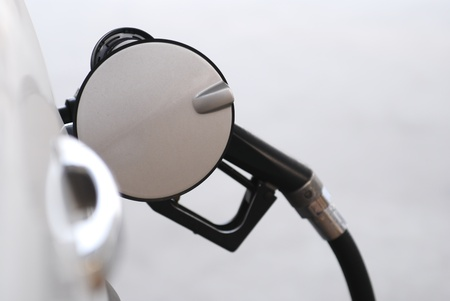 pumping: pumping gas Stock Photo