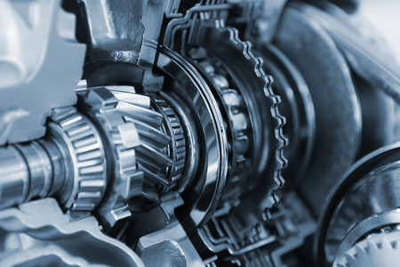 gears and cogs: car gear set