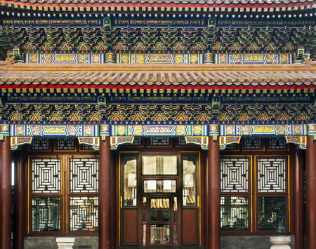 historic Chinese building in the Summer Palace