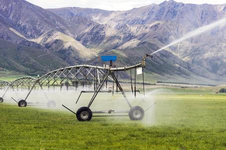 large irrigation system