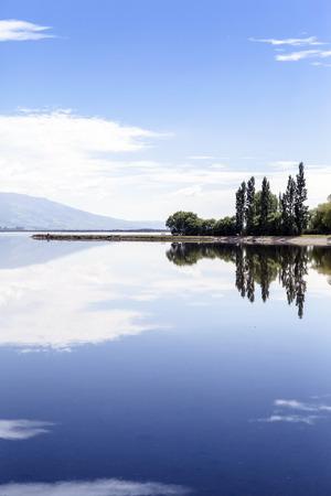 lakeside: sunny day at lakeside