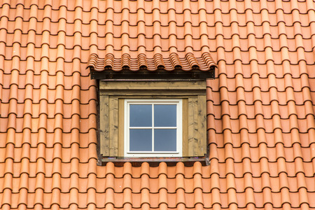 window shades: dormer on roof