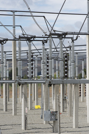 substation: electricity transformer substation devices