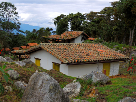 Rustic cabins of the great valley, state Merida, Venezuela