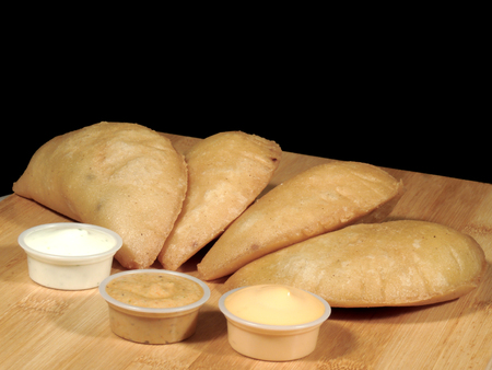 Meat and cheese empanadas