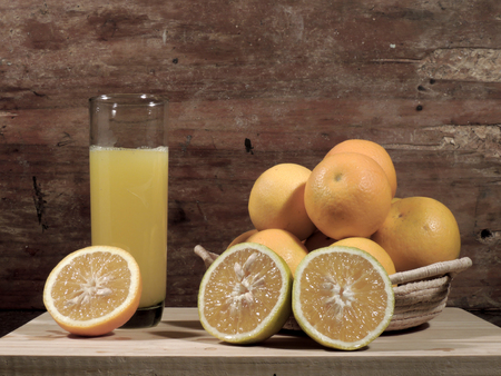oranges, fresh and healthy tropical fruit Imagens - 127655660